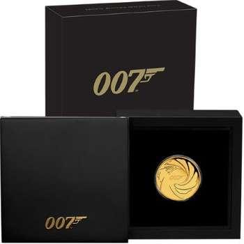 1/4 oz 2020 James Bond 007 Gold Proof Coin