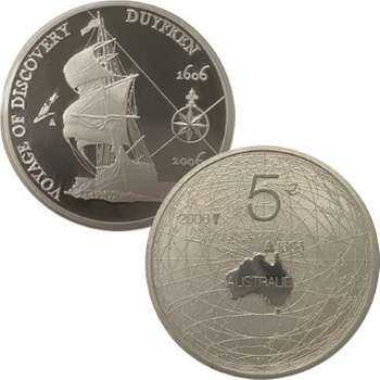2006 400 Years Netherlands and Australia Silver Proof 2 Coin Set