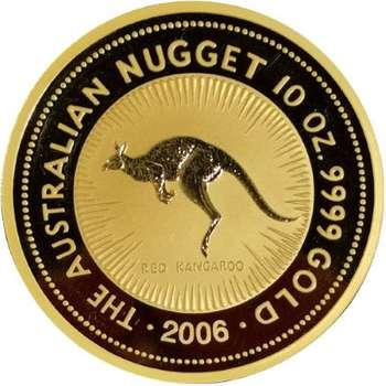 10 oz 2006 Australian Kangaroo Gold Bullion Coin