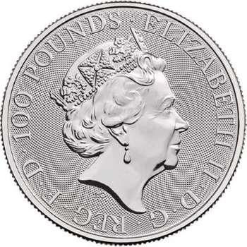 1 oz 2021 Great Britain Britannia Platinum Bullion Coin