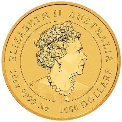 10 oz 2021 Australian Lunar Year of the Ox Gold Bullion Coin