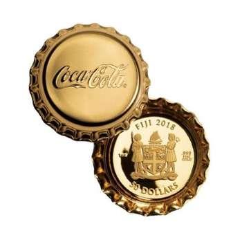 1 oz 2018 Coca Cola Cap Gold Proof Coin