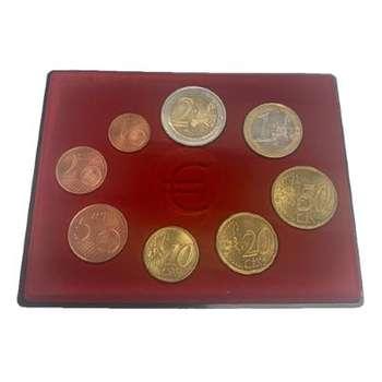 2002-2003 Austria Euro 8 Coin Collection