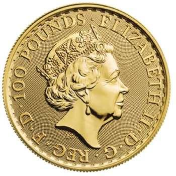 1 oz 2021 Great Britain Britannia Gold Bullion Coin
