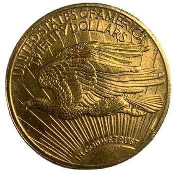 1922 USA Saint Gaudens Twenty Dollars Gold Coin