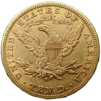 1899 S USA Liberty Head Ten Dollars Gold Coin