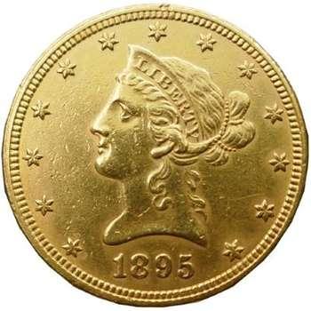 1895 USA Liberty Head Ten Dollars Gold Coin