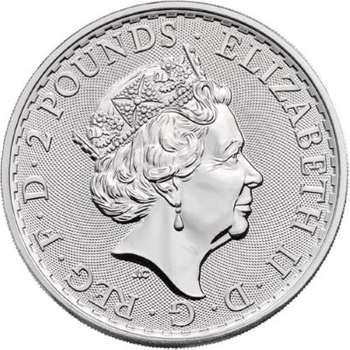 1 oz 2021 Great Britain Britannia Silver Bullion Coin