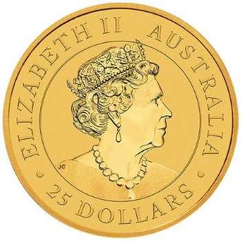 1/4 oz 2021 Australia Kangaroo Gold Bullion Coin