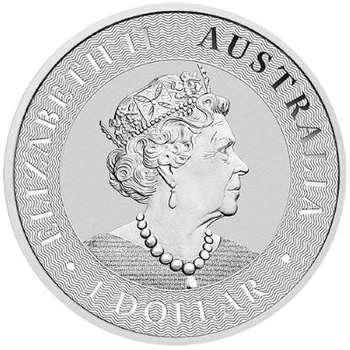 1 oz 2021 Australia Kangaroo Silver Bullion Coin