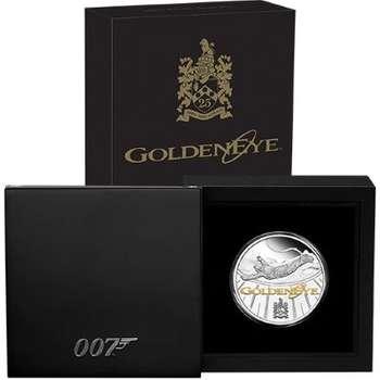 1 oz 2020 James Bond Goldeneye 25th Anniversary Silver Proof Coin