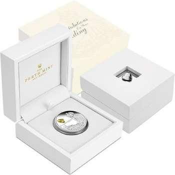 1 oz 2021 Wedding Silver Proof Coin
