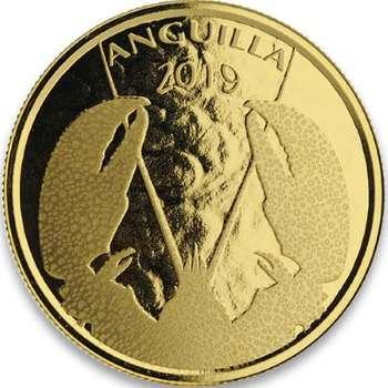 1 oz 2019 Anguilla Lobster Gold Bullion Coin