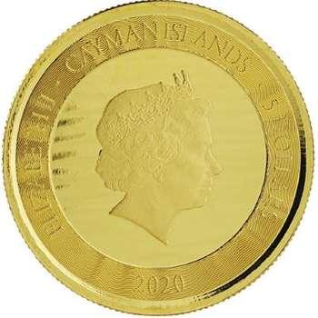 1 oz 2020 Cayman Islands Marlin Gold Bullion Coin