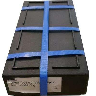 10 oz ABC Silver Bullion Cast Bar Monster Box 500 oz - 50 Bars