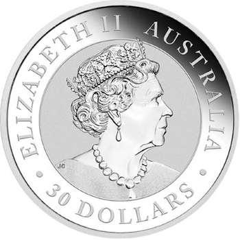 1 kg 2021 Australian Kookaburra Silver Bullion Coin