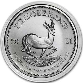 1 oz 2021 South Africa Krugerrand Silver Bullion Coin