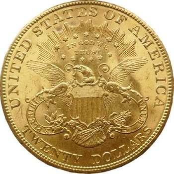 1904 USA Twenty Dollars Liberty Head Gold Coin