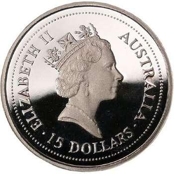 1/10 oz 1997 Australian Koala Platinum Bullion Coin (Proof Strike)