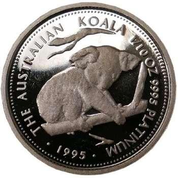 1/10 oz 1995 Australian Koala Platinum Bullion Coin (Proof Strike)