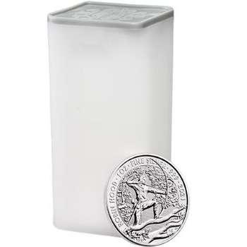 1 oz 2021 The Royal Mint (UK) Robin Hood Silver Bullion Coin