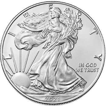 1 oz 2021 American Eagle Silver Bullion Coin