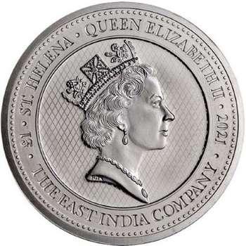 1 oz 2021 St Helena Napoleon Angel Silver Bullion Coin