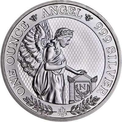 1 oz 2021 St Helena Napoleon Angel Silver Bullion Coin- 500 oz Master Box