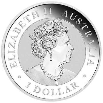 1 oz 2022 Australian Kookaburra Silver Bullion Coin