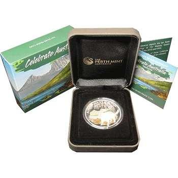 1 oz 2010 Celebrate Australia Tasmania Silver Proof Coin