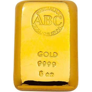 5 oz ABC Gold Bullion Cast Bar