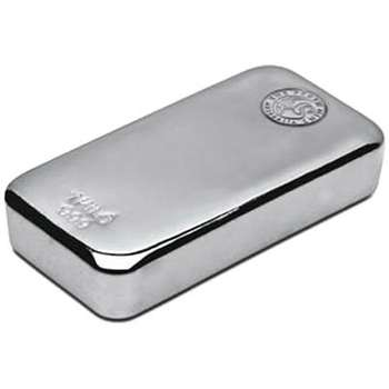1 kg Perth Mint Silver Bullion Cast Bar