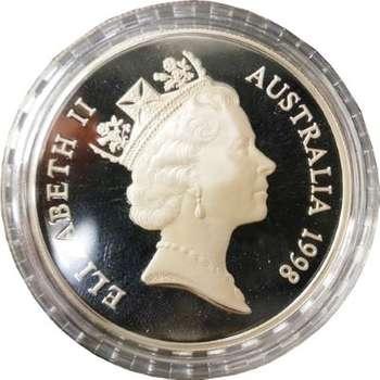 1 oz 1998 $1 Silver Kangaroo (Proof Strike)