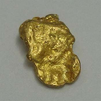 Natural Gold Nugget - 0.1 g