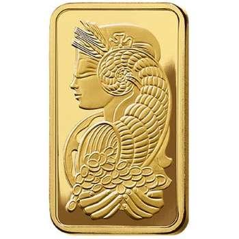 5 oz PAMP Suisse Gold Bullion Minted Bar