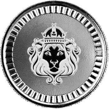 1/2 oz Scottsdale Lion Silver Bullion Round