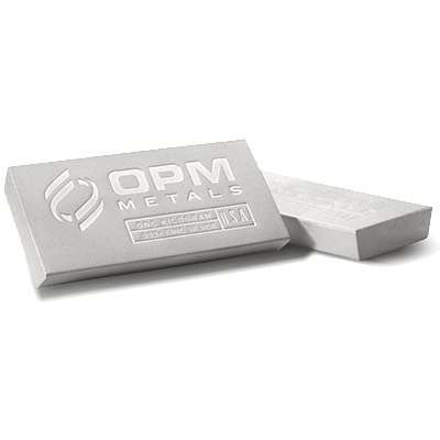 1 kg OPM Metals Extruded Silver Bullion Bar