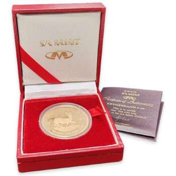 1 oz 1995 South Africa Krugerrand Gold Proof Coin