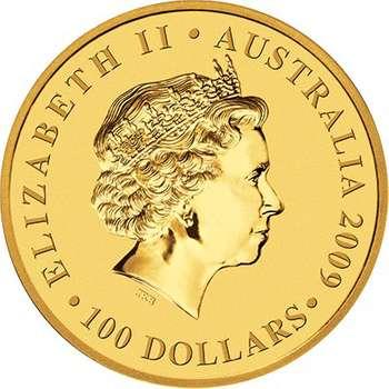 1 oz 2009  Australian Kangaroo Gold Bullion Coin